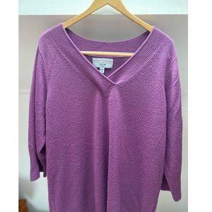 Avenue Soft V-neck Sweater